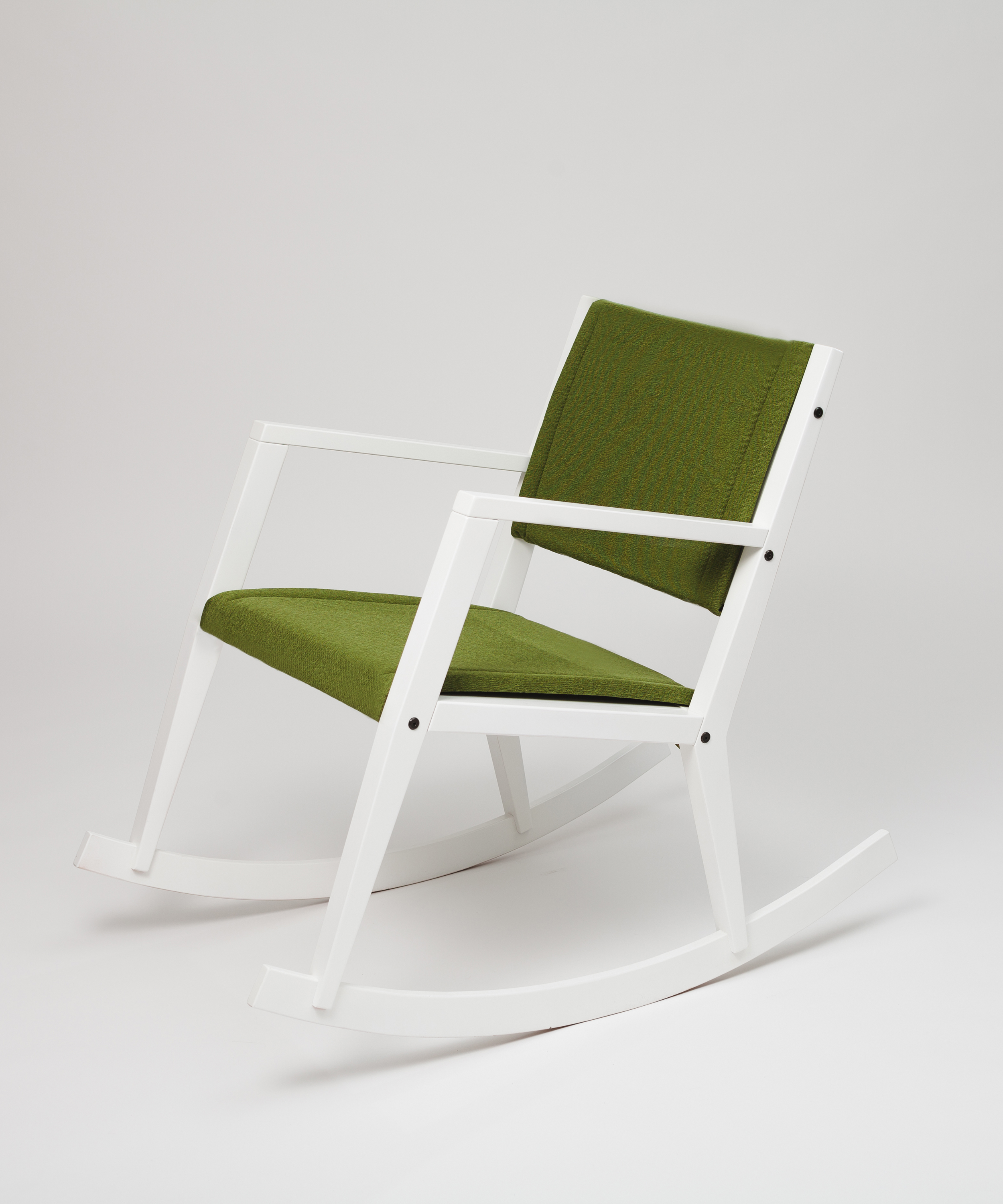 Onni rocking chair with padding – Design from Scandinavia